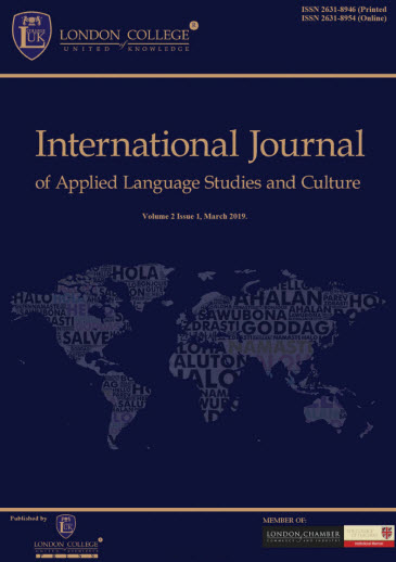 The International Journal of Applied Language Studies and Culture